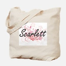 Unique Scarlett Tote Bag
