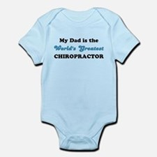 Dad World's Greatest Chiro Infant Bodysuit