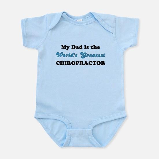 Dad World's Greatest Chiro Infant Bodysuit