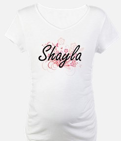 Shayla Artistic Name Design with Shirt