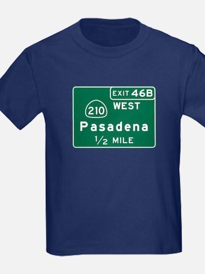 Pasadena, CA Road Sign, USA T