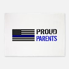 Police: Proud Parents 5'x7'Area Rug