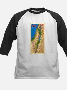 Israel Map Palestine Landscape Bor Baseball Jersey