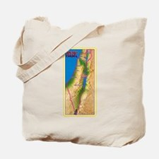 Israel Map Palestine Landscape Border Jew Tote Bag