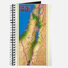 Israel Map Palestine Landscape Border Jewi Journal