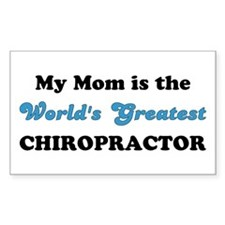 Mom World's Greatest Chiro Decal