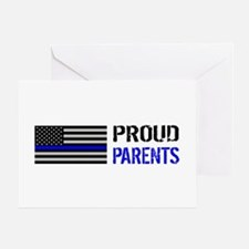 Police: Proud Parents Greeting Card
