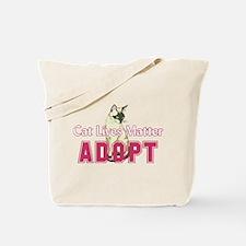 Cat Lives Matter Tote Bag