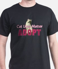Cat Lives Matter T-Shirt
