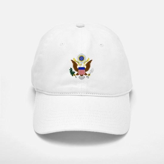 United States Great Seal Emblem Coat of Arms U Baseball Baseball Cap