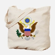 United States Great Seal Emblem Coat of A Tote Bag