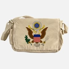 United States Great Seal Emblem Coat Messenger Bag