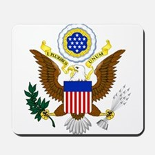 United States Great Seal Emblem Coat of Mousepad