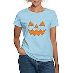 Orange Jack-O-Lantern Women's Light T-Shirt