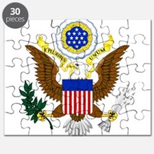 United States Great Seal Emblem Coat of Arm Puzzle