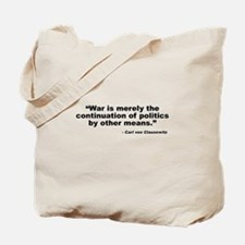 Clausewitz: Other Means Tote Bag