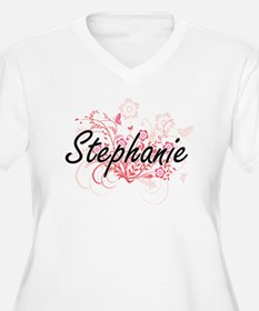 Stephanie Artistic Name Design w Plus Size T-Shirt