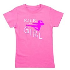 Cool Taekwondo Girl's Tee