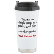 Cute Airborne Travel Mug