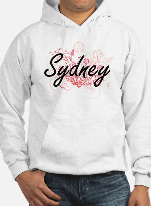 Sydney Artistic Name Design with Hoodie