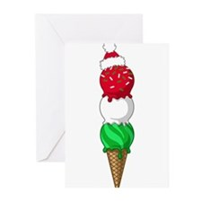 Cute Ice cream cone Greeting Cards (Pk of 20)