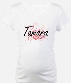 Tamara Artistic Name Design with Shirt
