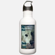 Dig,shed, Bark, Love Stainless Water Bottle 1.0l