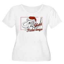 glad tidings Plus Size T-Shirt