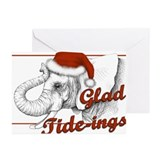 Alabama christmas Greeting Cards (10 Pack)