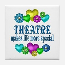 Theatre More Special Tile Coaster