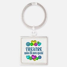 Theatre More Special Square Keychain