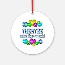 Theatre More Special Round Ornament