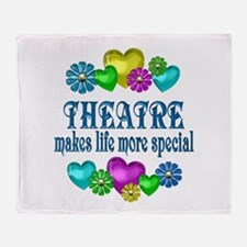 Theatre More Special Throw Blanket