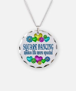 Square Dancing More Special Necklace