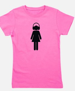 Funny Emcees Girl's Tee
