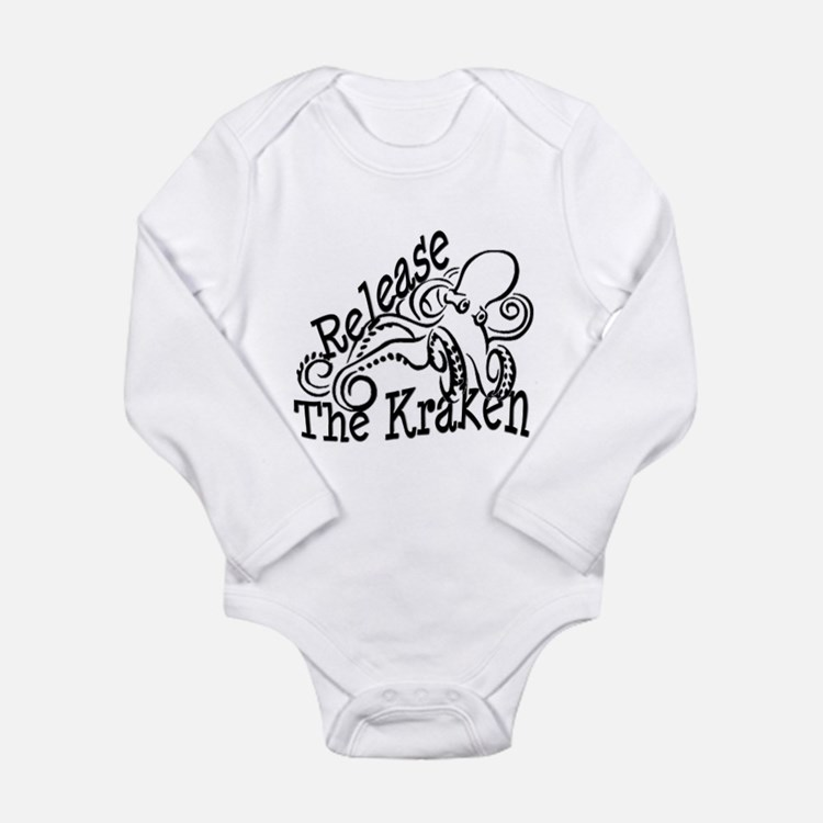 Cute Mythological Long Sleeve Infant Bodysuit