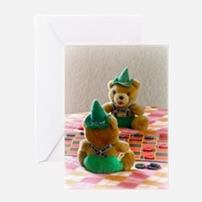 Hans and Yodel Greeting Cards