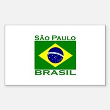 Cute Brazil coat of arms Sticker (Rectangle 10 pk)