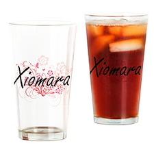 Cute Xiomara Drinking Glass
