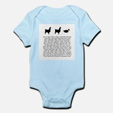 Cute Llamas Infant Bodysuit