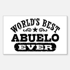 World's Best Abuelo Ever Decal