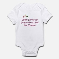 I Wanna Be A Chef Infant Bodysuit