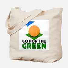 """Go for the Green"" Tote Bag"