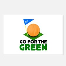 """""""Go for the Green"""" Postcards (Package of 8)"""