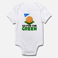 """""""Go for the Green"""" Infant Bodysuit"""