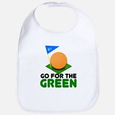 """Go for the Green"" Bib"