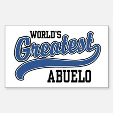 World's Greatest Abuelo Decal