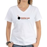 Blather Women's V-Neck T-Shirt