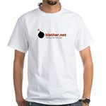 Blather White T-Shirt