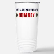 Cute Mitt romney Travel Mug